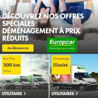 bons plans utilitaires europcar